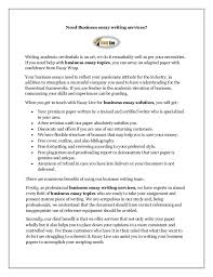 Essay Writing Business   Gulos Resume Get     s You Where You     re Going Need Business Essay