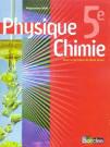 Livre - Physique-chimie ; 5eme ; manuel (edition 2006) - Vento, Rene