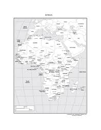 Physical Map Africa by Maps Of Africa