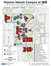 Grant Park Chicago Map by Walking Tour Map