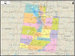 Map Of Utah And Colorado by Geoatlas Us States Utah Map City Illustrator Fully
