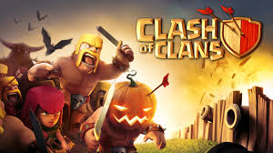orange halloween hd background clash of clans halloween update 1920x1080 full hd 16 9