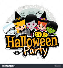 halloween party clipart for kids clipartxtras