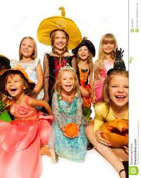 Group Family Halloween Costumes by Funny Happy Kids In Halloween Costumes Stock Photo Image 44416058