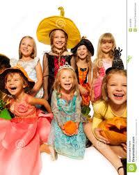funny happy kids in halloween costumes stock photo image 44416058