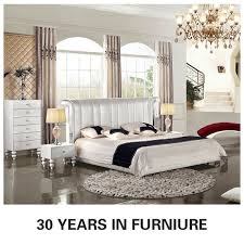 Catchy White Leather Bedroom Furniture Leather Bedroom Sets Cheap - White tufted leather bedroom set