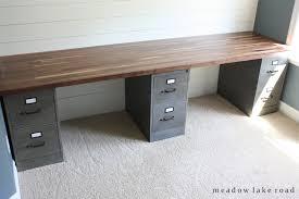 butcher block desk top butcher block desk metal file cabinets