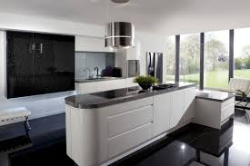 interesting ikea kitchen design with white cabinet and dark brown