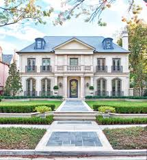 modern french style homes awesome stunning home exterior white