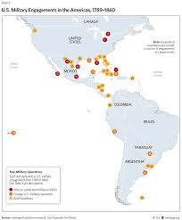 Map Of South America And Caribbean by The Myth Of American Isolationism Commerce Diplomacy And