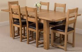 Dining Room Tables Seattle Seattle Dining Set With 6 Lincoln Chairs Oak Furniture King