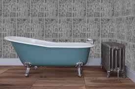the drum round cast iron roll top bath warwick reclamation sjz034