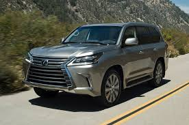 2017 lexus lx570 reviews and rating motor trend