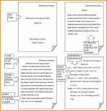 Sample APA Paper   MLA Format APA Style   Sample Papers   th and  th edition