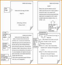 apa format sample paper essay
