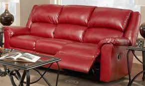 magnificent red sofa sleeper top seller reclining and recliner
