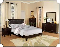 Modern Leather Bedroom Furniture Bedroom Beautiful Leather Headboard With Luxury Duvet Cover For