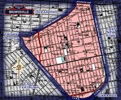 Brooklyn New York Map by Neighborhood Borders Map For Brownsville Brownsville Old Brooklyn