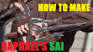 raphael halloween costume how to make raphael u0027s sai tmnt halloween prop youtube
