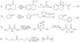 Alkylation of Enolate Anions   Homework Help   Assignment Help     TutorsGlobe