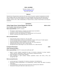 Example Resume  Resume Samples In Canada With European Directories And Experience  Resume Samples In Example Resume  Professional     Binuatan