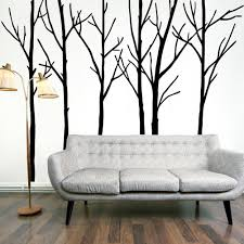 Bedroom Wall Decals Trees Extra Large Black Tree Branches Wall Art Mural Decor Sticker