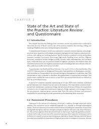 chapter 2 state of the art and state of the practice literature