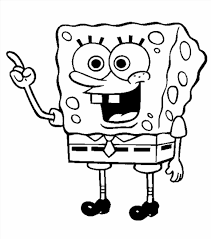 printable coloring pages of spongebob squarepants