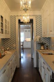 33 small but stylish galley kitchens marble buzz