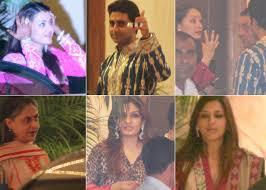 Bachchans\u0026#39; Diwali bash at Jalsa – NDTV.com Photo Gallery - mainimage