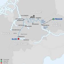 Map Of France And Switzerland by 2018 Europe River Cruise Deals