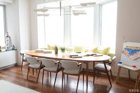 miami modern house home dining room banquette