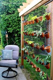 Outdoor Wall Planters by 26 Creative Ways To Plant A Vertical Garden How To Make A