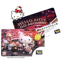 kitty touch card limited edition original touchngo
