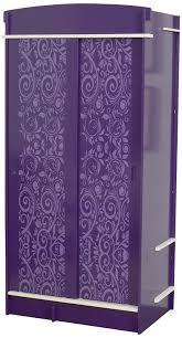 Purple Bedroom Furniture by Bedroom Furniture Purple Wooden Wardrobe Cabinet Decorative Door