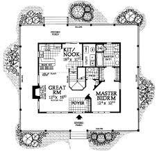 Wrap Around Porch Floor Plans Farmhouse Style House Plan 3 Beds 2 50 Baths 1696 Sq Ft Plan 72 110