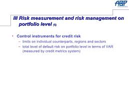 Phd thesis on financial risk management FC
