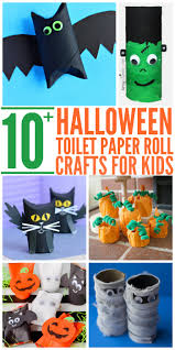 Halloween Crafts For Kids Easy 10 Easy Halloween Toilet Paper Roll Crafts Glue Sticks And Gumdrops