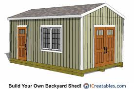 Diy Garden Shed Plans Free by 12x20 Large Storage Shed Plans 12x20 Shed Plans Pinterest