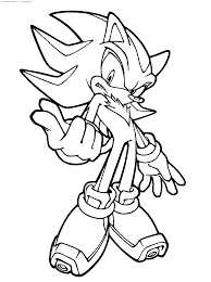 downloads online coloring page sonic coloring page 77 for your