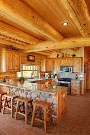 best ideas about log cabin kitchens pinterest houses log home kitchen love the cobblestone bebe ideasrustic kitchencountry kitchenkitchen designscountry