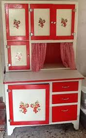 Enamel Kitchen Cabinets by Hoosier Style Kitchen Cabinet With Enamel Work Surface And Flour