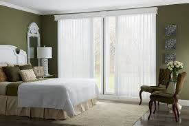 window treatment for glass door interior white vertical blinds with cornice for patio sliding