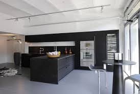 black and white modern kitchen designs