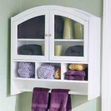 hannah beauty wall cabinet bathroom with towel bar ideas rail