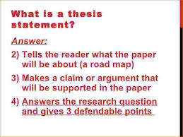 Thesis sentence help  Help with thesis statement