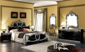 Modern Bedroom Set Dark Wood Dressers King Size Bedroom Furniture Solid Wood Dresser Black