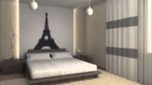 interior design cool paris themed bedroom decor style home