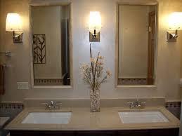 framed mirrors over vanities for bathroom double sink bathroom