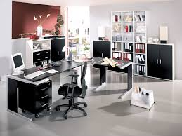 Office Decoration Theme Home Office Decorating Ideas Furniture With Modern Black And White